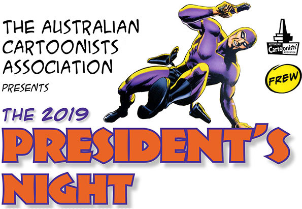 Flyer image for the 2019 President's Night event